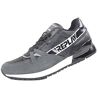 Replay Black/grey Sneaker Trainer