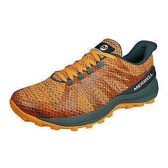 Merrell Betydelsefulla Womens Trail Running Utbildare / Skor - Orange