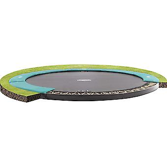 BERG FlatGround Champion 430 14ft Trampoline Sports Series Green
