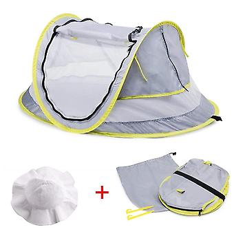 Baby Beach Portable Pop Up Tent, Upf 50+ Sun Refugios Baby Shade Con Mosquito