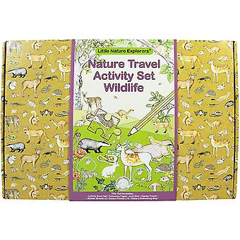 Little Nature Explorers Wildlife Travel Activity Set