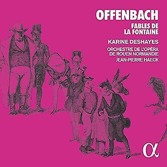 Fables De La Fontaine [CD] Usa tuonti