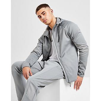 Novos McKenzie Men's Parkes Full Zip Poly Hoodie Grey