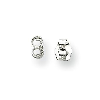 Earring Push Backs in Sterling Silver with Yellow Plating