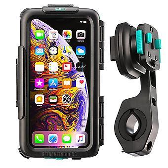 Bike handlebar waterproof tough case mounting kit apple iphone xs max