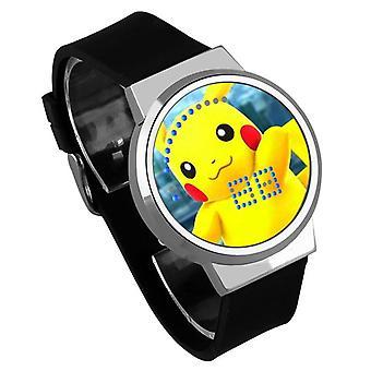 Αδιάβροχο φωτεινό ρολόι παιδιών αφής των οδηγήσεων - #42 Pokemon GO