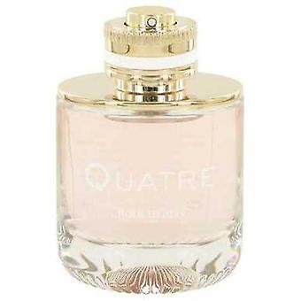 Quatre by Boucheron Eau de Parfum Spray (Tester) 3,3 oz (naiset) V728-531178