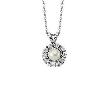 Collier de diamants perlés