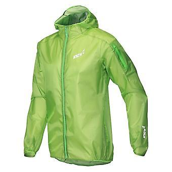 Inov8 Ultrashell Pro Mens Breathable & Waterproof Full Zip Running Jacket Green