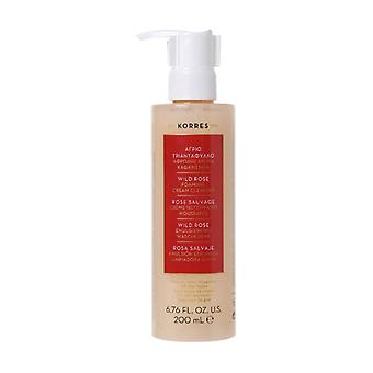 Rose Sauvage - Foaming cleansing cream, face & eyes, 200 ml