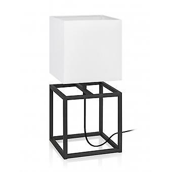 Tischleuchte Cube Black 1 Bulb