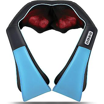 Neck Back Massager, Deep Tissue 3d Kneading Pillow,for Shoulder, Leg, Body Muscle Pain Relief