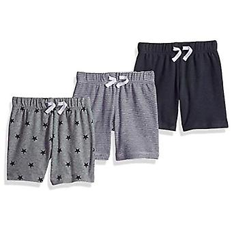 Essentials Baby Boys Cotton Pull-On Shorts