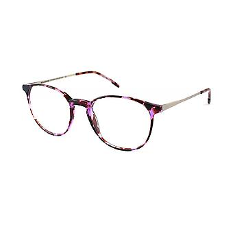 Moleskine MO1103 62 Purple Havana And Silver Optical Glasses