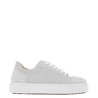 Christian Louboutin 1210459j280 Women's White Leather Sneakers