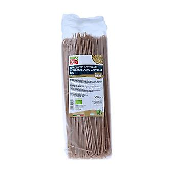 Biologische Cappelli durum tarwe volkoren spaghetti 500 g