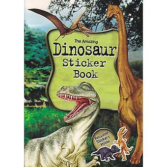 Książka z naklejkami dinozaurów