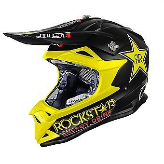 Just1 J32 Pro Kids ACU Gold MX Helmet - Rockstar