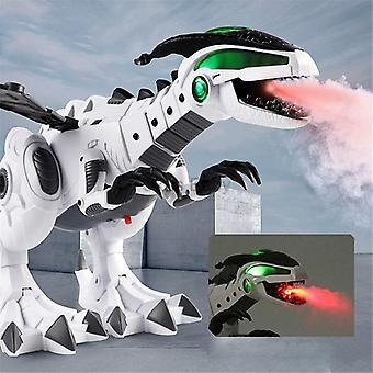 Biely sprej Elektrické mechanické pterosaury Dinosaur hračka