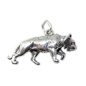 Tiger Sterling Silver Charm .925 X 1 Tigers & Big Cats Charms - 8579