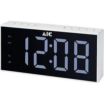 AIC 48XXL Radyo çalar saat FM FM Çalar saat Beyaz