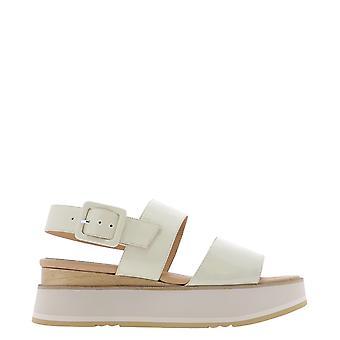 Paloma Barceló Javarilorypanna Women's Beige Leather Sandals