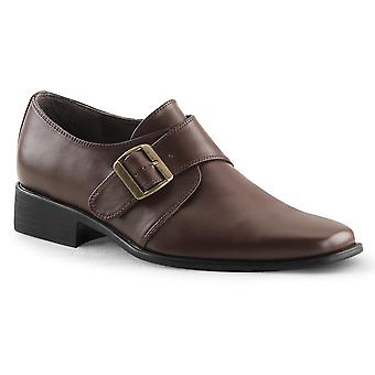 Funtasma Apparel & Accessoires > Costumes & Accessoires > Chaussures costume > Mens LOAFER-12 Brown Pu