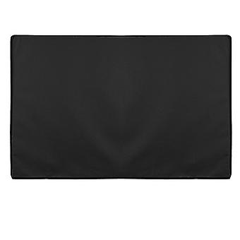 Black 600D Outdoor Fully Dustproof Weatherproof TV Cover for 22-70 Inches LED LCD Plasma TVs