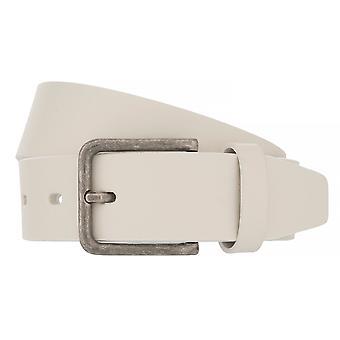 Lloyd hombres's cinturones cinturón de hombre cinturón de vaca completa cinturón blanco 7185