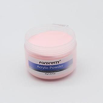 Acrylic Powder, Nails Art Clear White, Acryl Gel, Design Extension