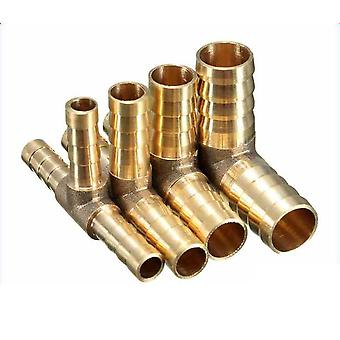 3 Way Fuel Hose Joiner Connector For Air Oil Gas