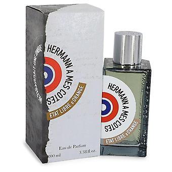 Hermann A Mes Cotes Me Paraissait Une Ombre Eau De Parfum Spray (Unisex) By Etat Libre d'Orange 3.4 oz Eau De Parfum Spray