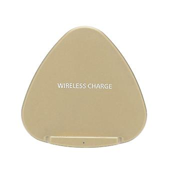 Portable foldable mini fast wireless charger stand holder intelligent recognition qi