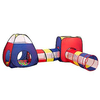 Tragbare 3 In1 Kid Crawling Tunnel Spielzelt