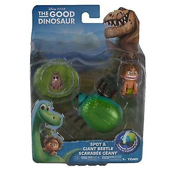 The good dinosaur spot and beetle action figures