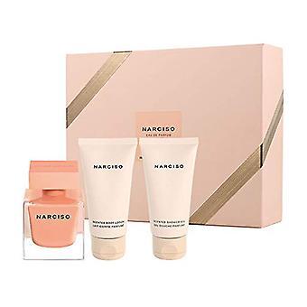 Narciso Rodriguez Narciso Ambree Gift Set 50ml EDP + 50ml Body Lotion + 50ml Shower Gel