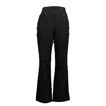 Belle By Kim Gravel Women's Jeans Flexibelle Boot Cut Black A379992