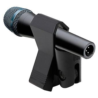 Black Flexible Shockmount, Butterfly Spring Microphone Mic Clip Holder