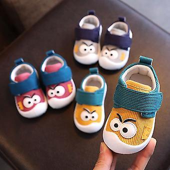 Infant First Walkers kengät funny big eyes kuvio muoti poika rento loafers ja taapero tyttö liukumaton kenkä