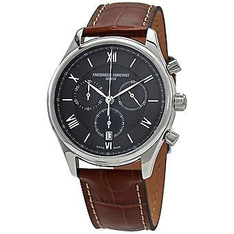 Frederique Constant Classics Chronograph Quartz Black Dial Men's Watch FC-292MG5B26
