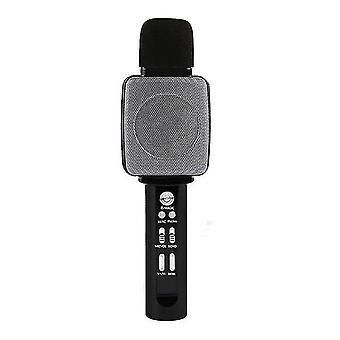 Bluetooth hoparlörlü ve ses dönüştürücülü çocuk ve müzik mikrofonu çocuklar için en iyi oyuncak ve hediyedir
