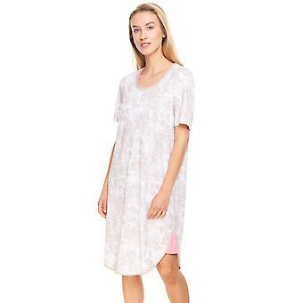 Rösch Pure 1213132-16453 Women's Pastell Flowers Cotton Nightdress