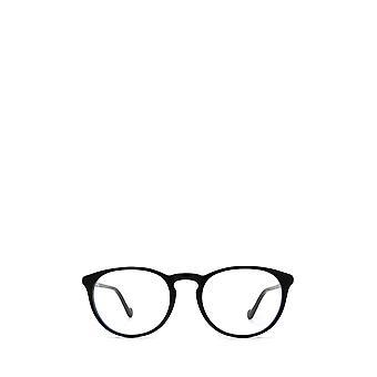 Moncler ML5104 gafas unisex negras brillantes