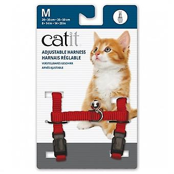 Catit Breakaway Harness Red (Cats , Collars, Leads & Harnesses , Harnesses & Leads)
