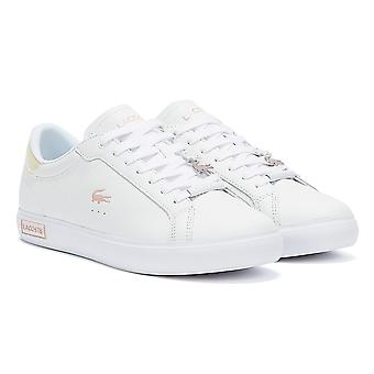 لاكوست باوركورت 921 1 سيدات أبيض / ضوء الوردي المدربين