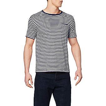 Armor Lux 76023 T-Shirt, Multicolored (Navire/Nature 429), X-Small Men