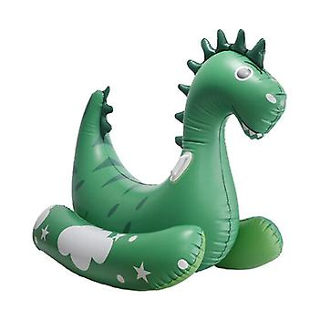 Mimigo Giant Dinosaur Inflatable Pool Float Party Toys Ride-on With Durable Handles Summer Beach Swimming Pool Party Game Pool Toy Tube Raft Lounge Ki