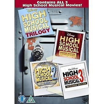 High School Musical 1-3 DVD
