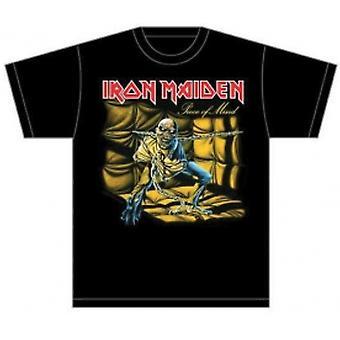 Iron Maiden Piece of Mind Heren T Shirt: Medium