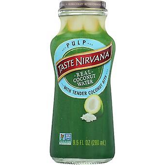 טעם נירוונה קוקוס Wtr עיסת טבעי, במקרה של 12 X 9.5 עוז